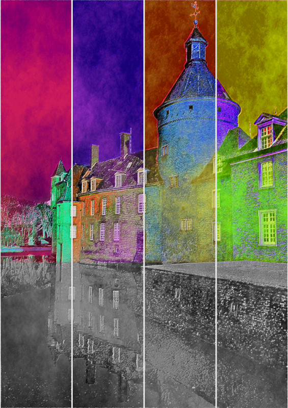 Anholt PopArt Water Castle Moated Castle