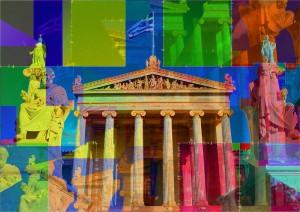Athen the Greek Philosophy by PLATUX