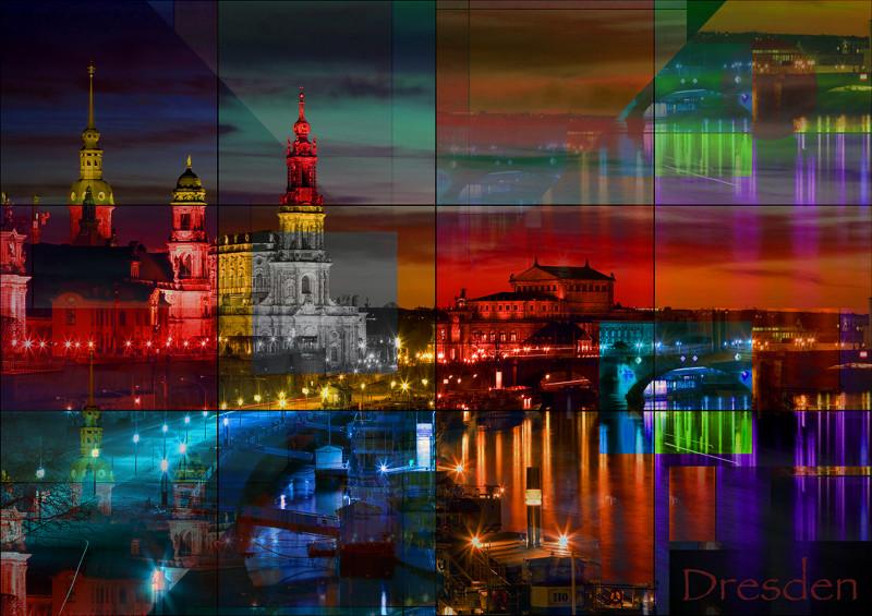 Dresden City Saxony PhotoArt