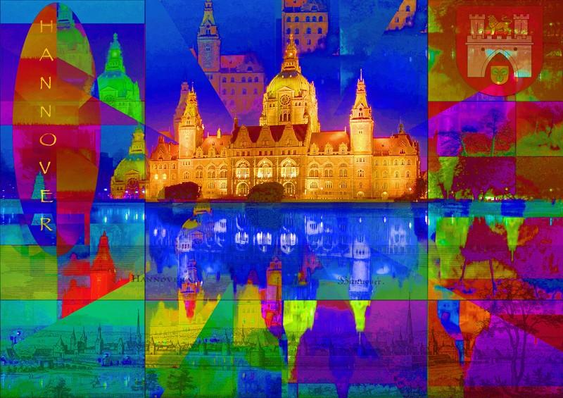 Hannover Expo City PhotoArt by PLATUX