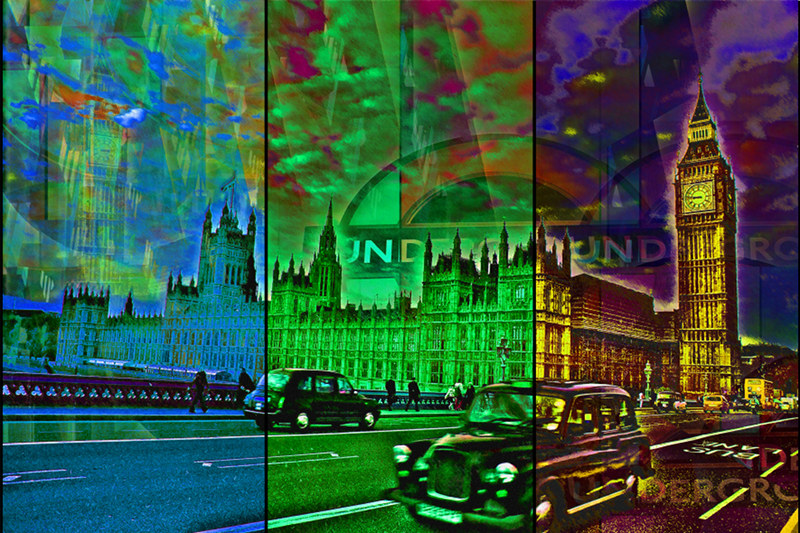 UK London Westminster PhotoArt by PLATUX