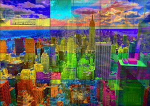 New York City Skyline by PLATUX