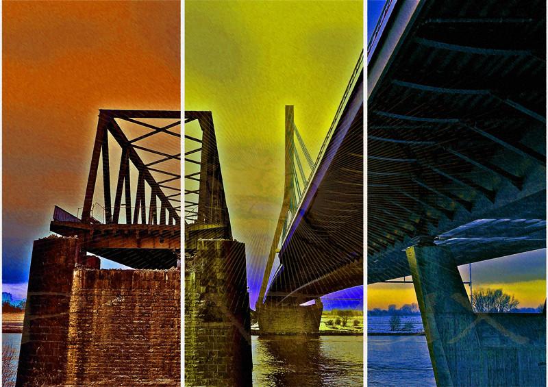 Wesel Triptychon PhotoArt