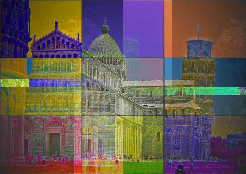 Pisa Tower PhotoArt