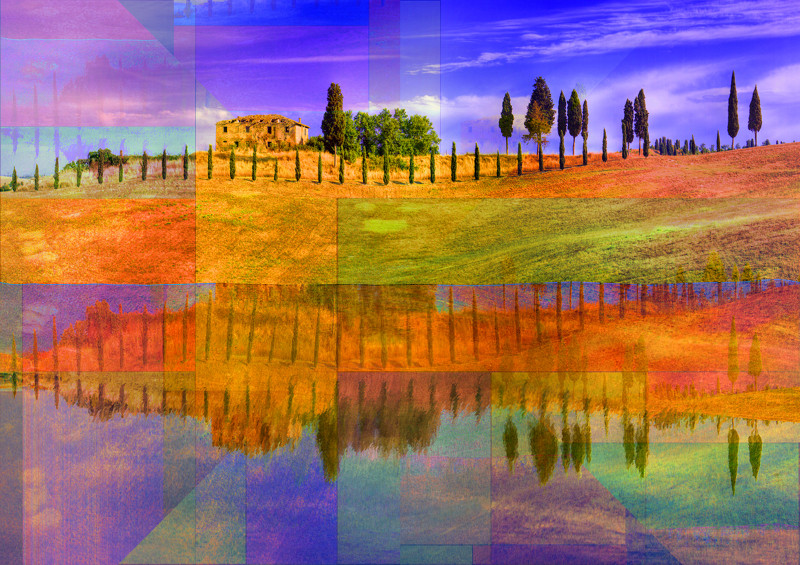 Toscana Italy fine art works by PLATUX