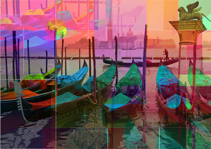 Venezia Italia Venice Italy Venedig Italien Art by PLATUX