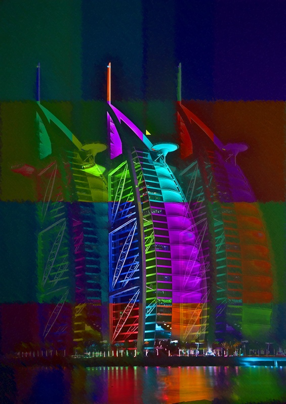 Burj al Arab Dubai Art Gallery