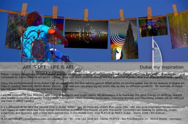 PLATUX Exhibition 22.10. to 25.10.2011 INDEX Dubai Art Avenue