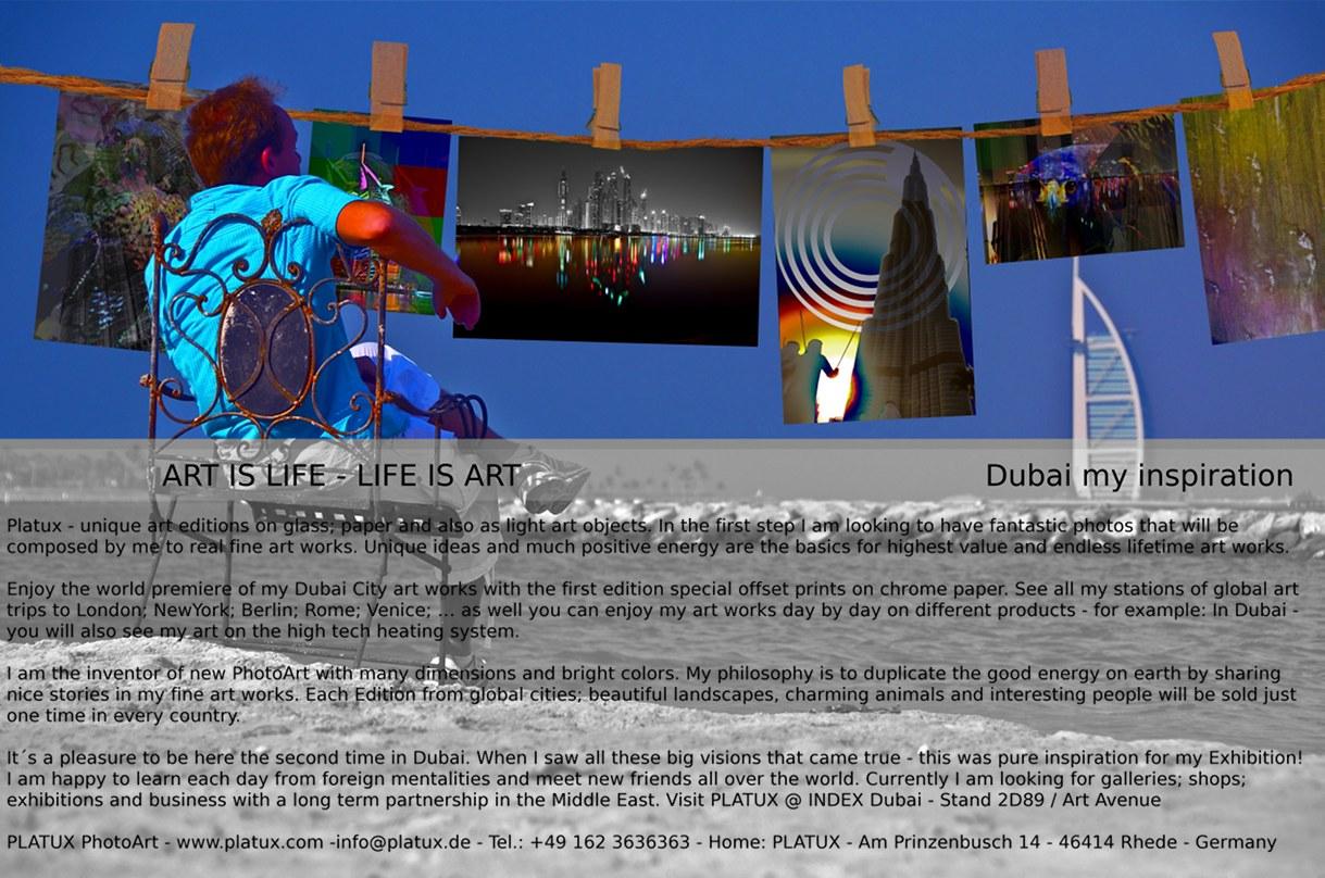 PLATUX Exhibition 22.10. to 25.10.2011 INDEX Dubai Art Avenue