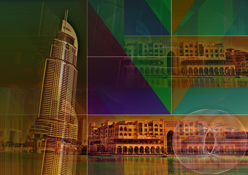 Hotel & residential Tower with 63 floors side of Burj Khalifa UAE