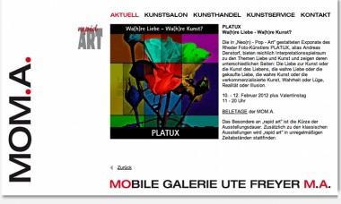 Platux bei Kunsthistorikerin Ute Freyer