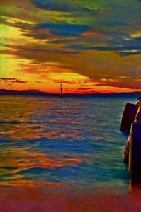 Croatia Sea Port to Island Pag