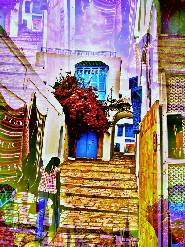 Sidi Bou Said Tunis by Platux Photo Art