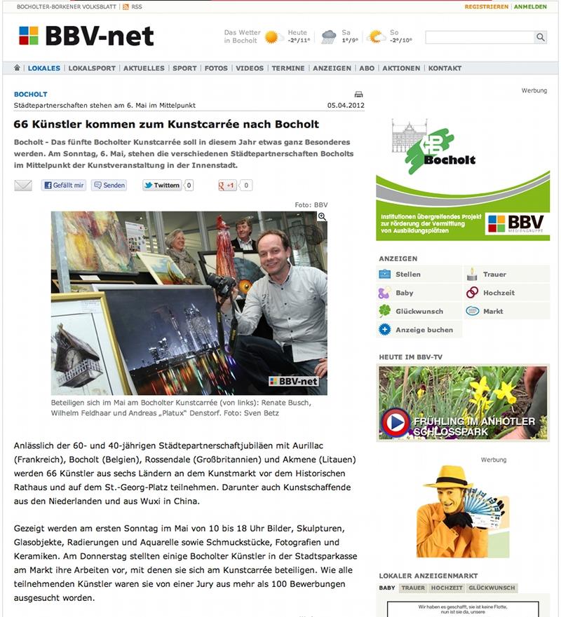 Platux beim Kunstkarree Bocholt