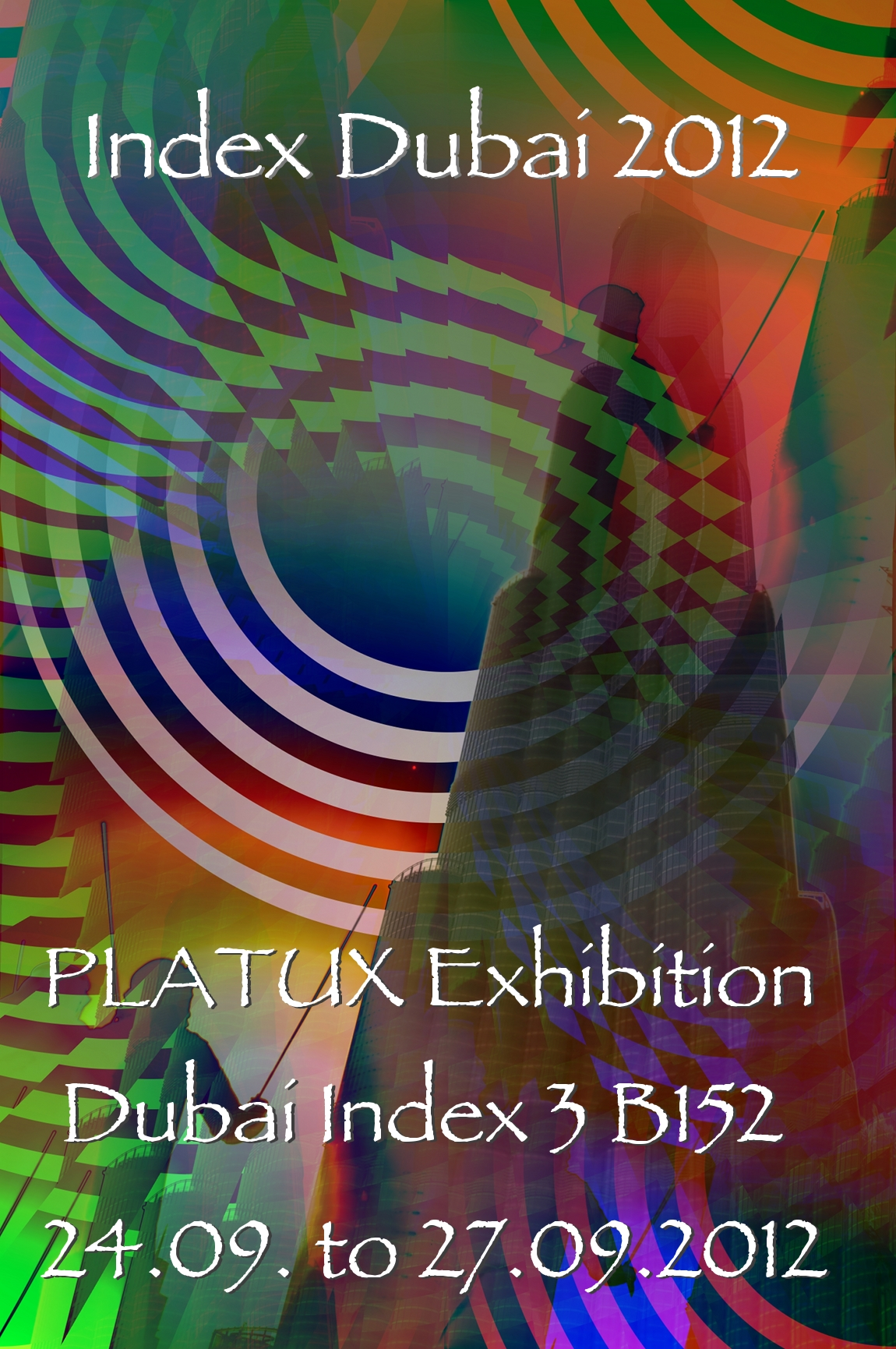 PLATUX Exhibition Index Dubai 3B152 24 to 27 September 2012