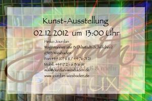PLATUX Kunst-Ausstellung Wiesbaden Heiko Jourdan Massanzüge