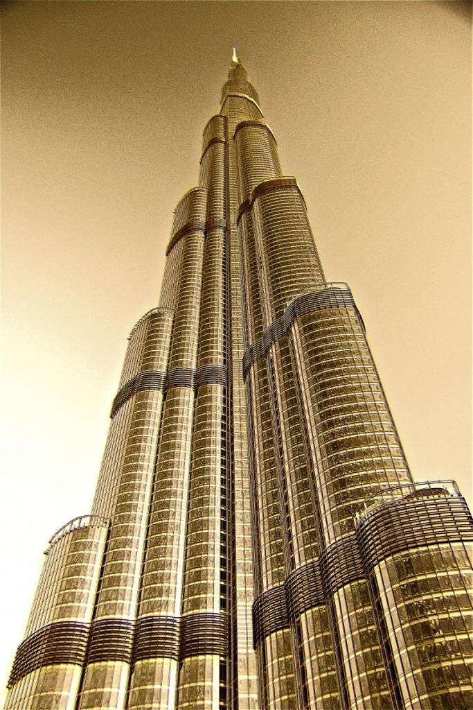 Burj Khalifa Dubai UAE PLATUX modern ART Photography