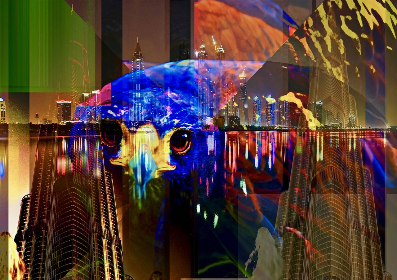 Art Dubai City Falcon PLATUX Luxury Art 2011 2017