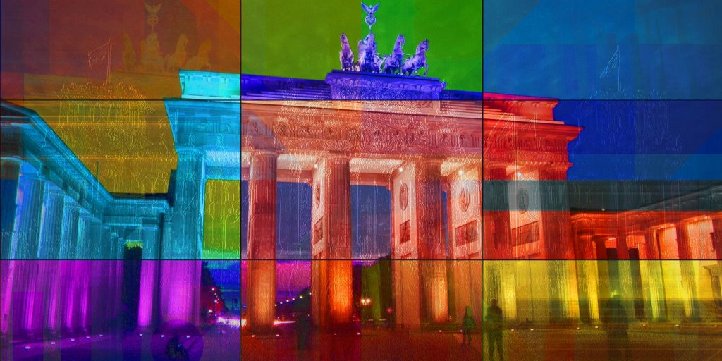 PLATUX Kunst Berlin Brandenburg Gate Fotokunst City-Art 2015