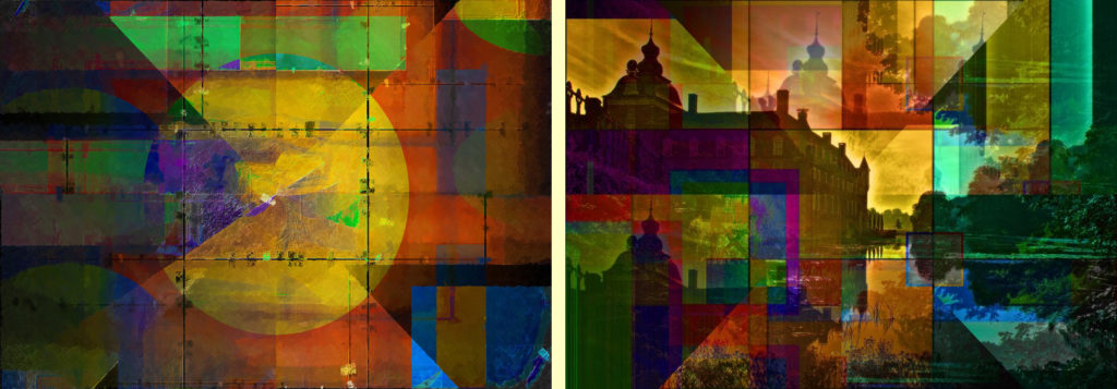 Abstract Art and Photo Art Composition PLATUX modern Art Gallery