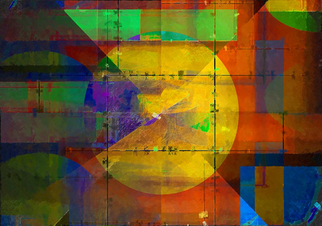 Abstract World PLATUX Abstract Art 2010