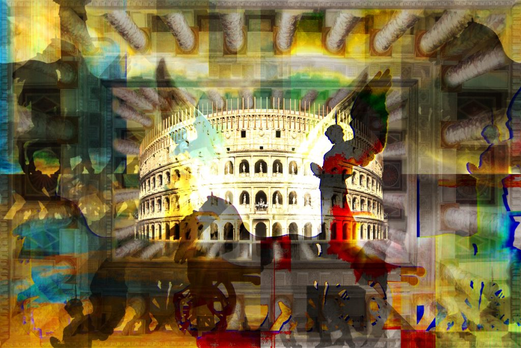 Gloria of Rome - City Art - PLATUX ART 2016