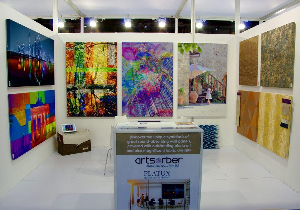 Hotel Show Dubai 2016 PLATUX ART German Pavilion