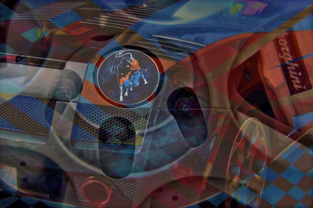 Lamborghini Art - Luxury Art - PLATUX modern Art 2016