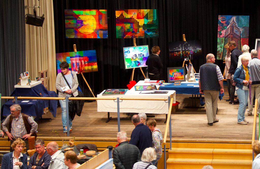 Kunstmesse Kunstausstellung PLATUX Rees Niederrhein Kleve