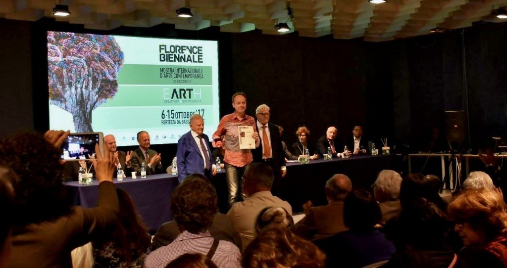 XI Florence Biennale 2017 PLATUX Andreas Denstorf Lorenzo di Magnifico Award international art experts jury