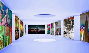 modern art gallery museum collector shop PLATUX emerging artist Basel Dubai London Artsy