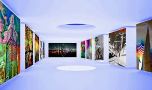 modern art gallery museum shop PLATUX emerging artist Basel Dubai London